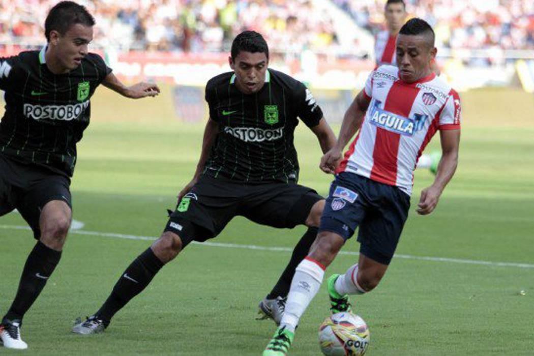 Atlético Nacional sacó un valioso empate ante el Junior