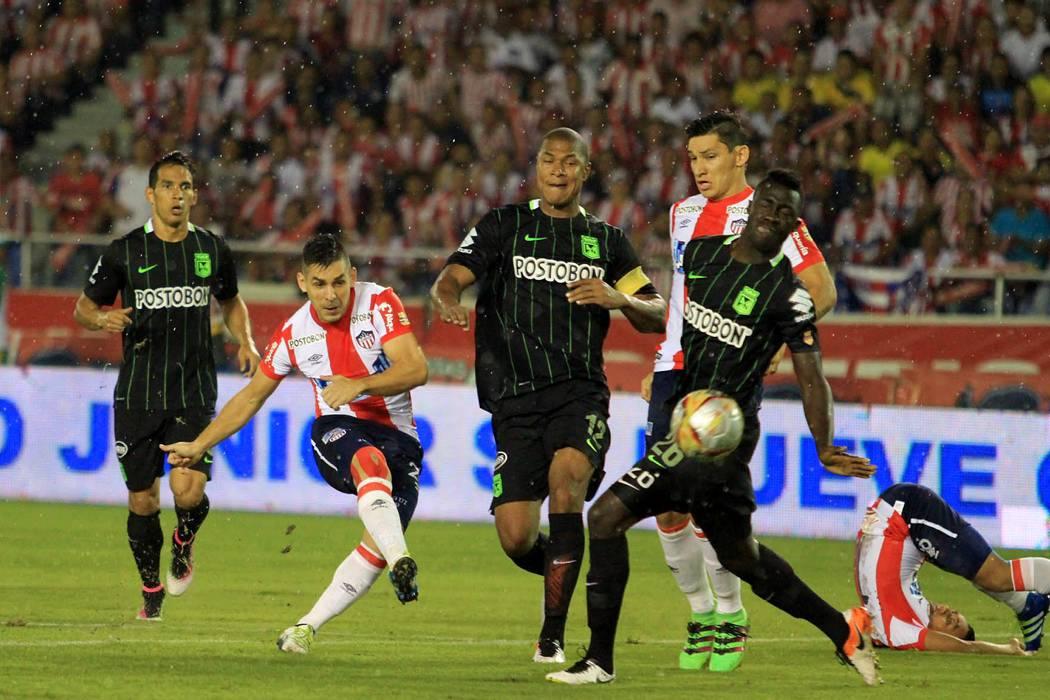 Junior salvó un punto en Barranquilla ante Nacional