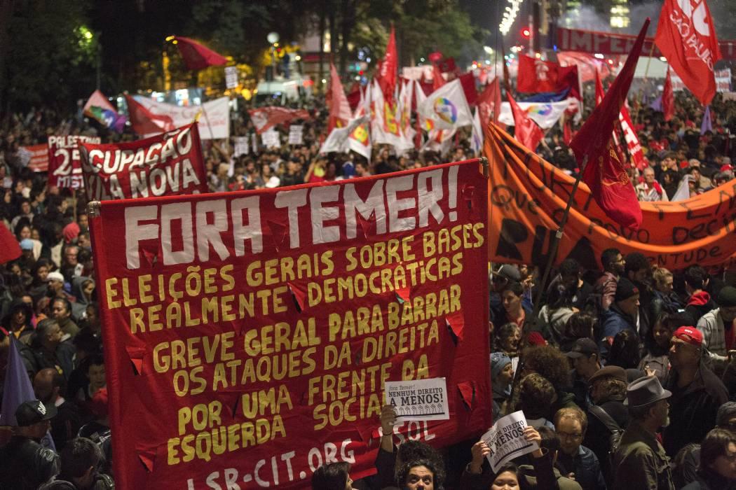 """Director de la OMC visita a Temer y dice que Brasil está en un momento """"difícil"""""""