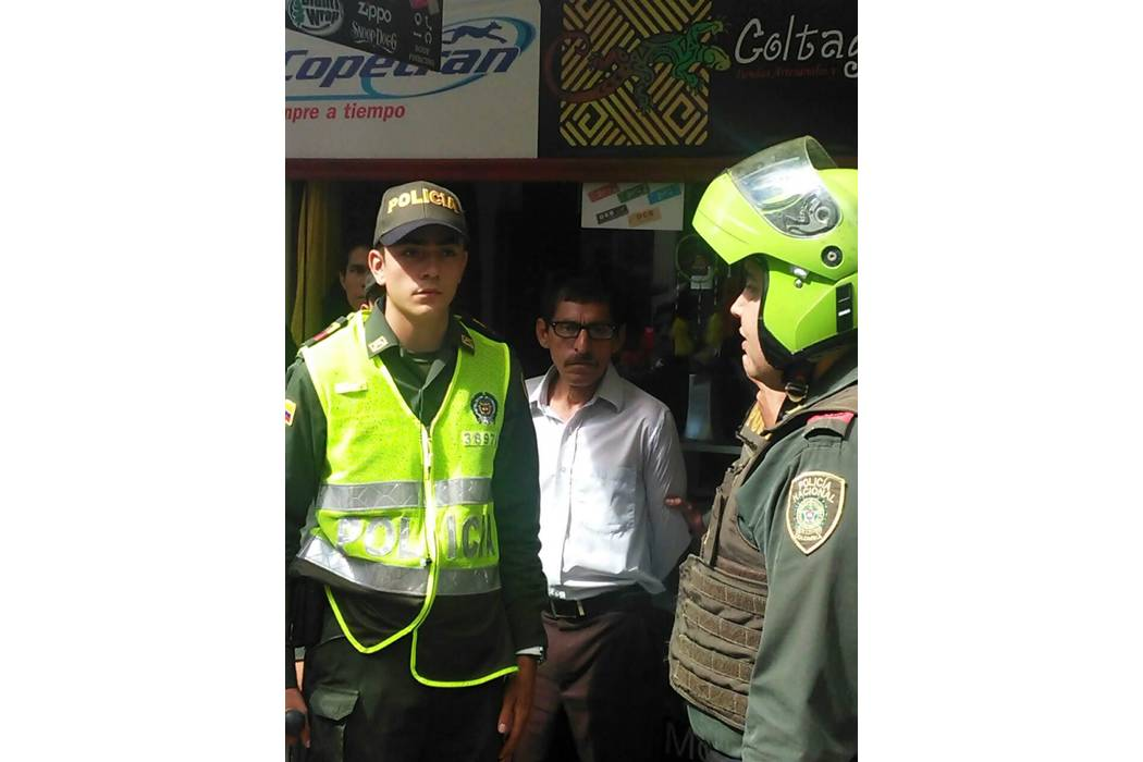 Frustrado intento de robo en zona céntrica de San Gil