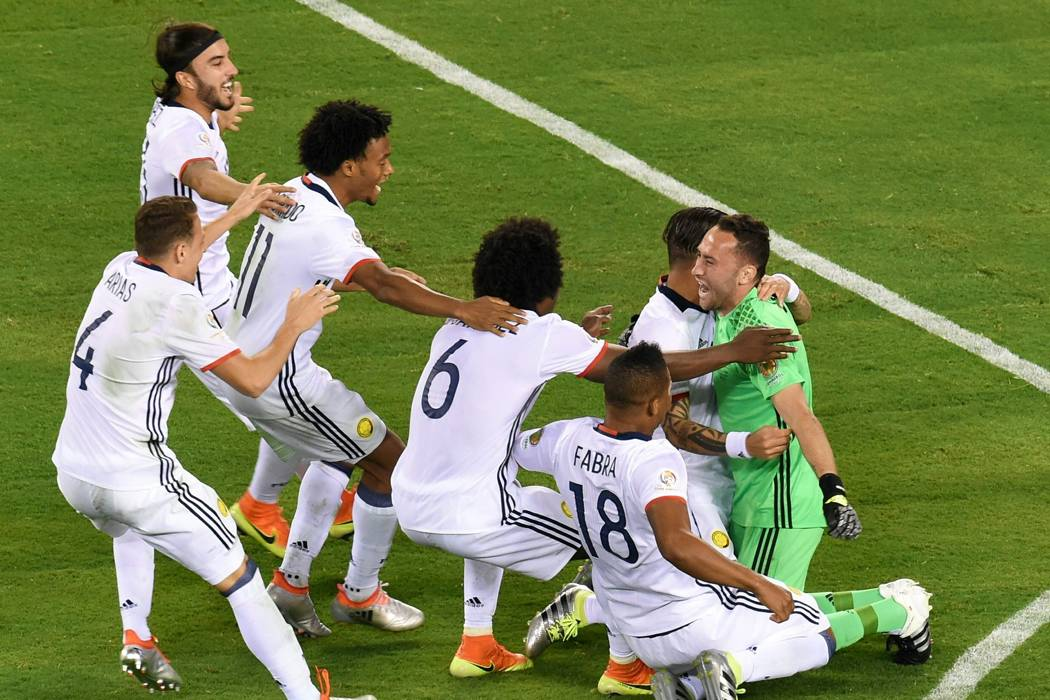 Colombia clasificó a semifinales de la Copa América desde el tiro penal