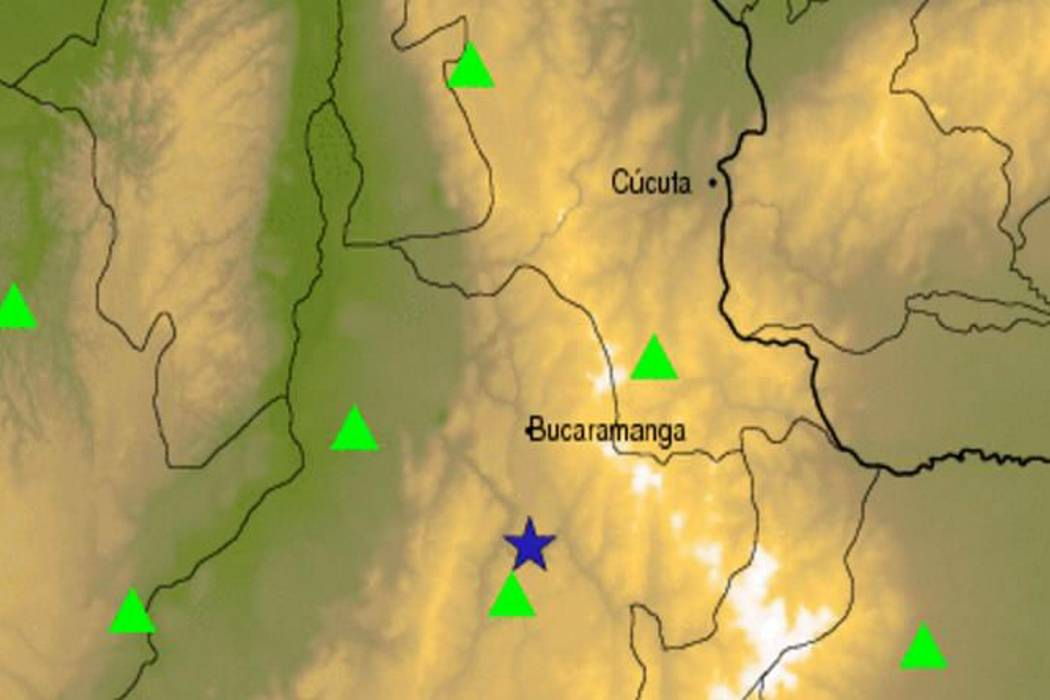 Un sismo sacudió a Bucaramanga este jueves en la madrugada