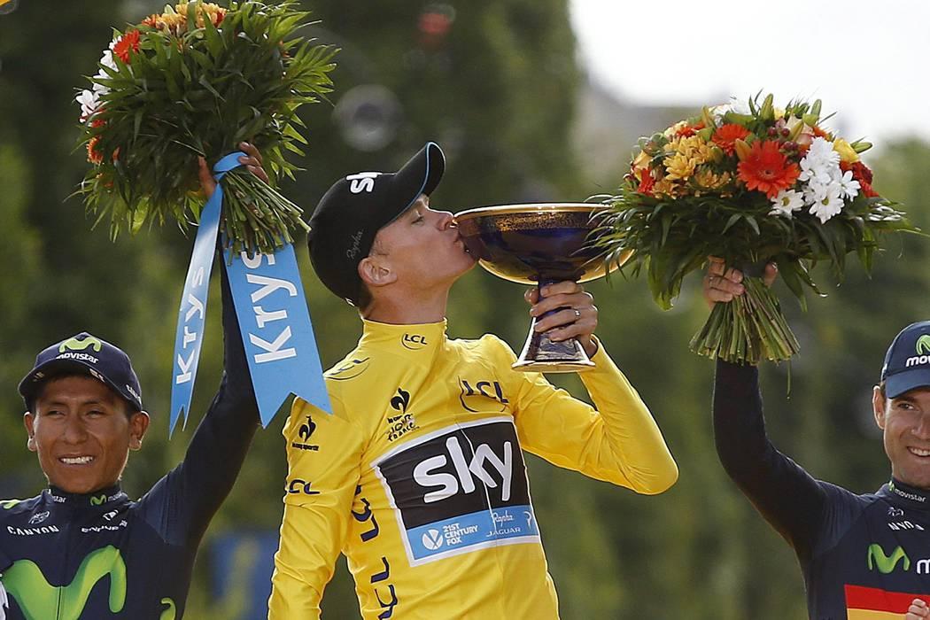 Campeón del Tour, Chris Froome, encabeza equipo británico para los Olímpicos