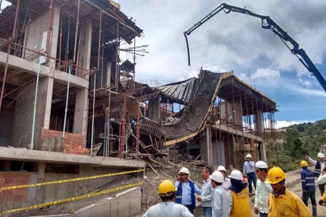 Un muerto y tres heridos por accidente en obra del nuevo Gramalote