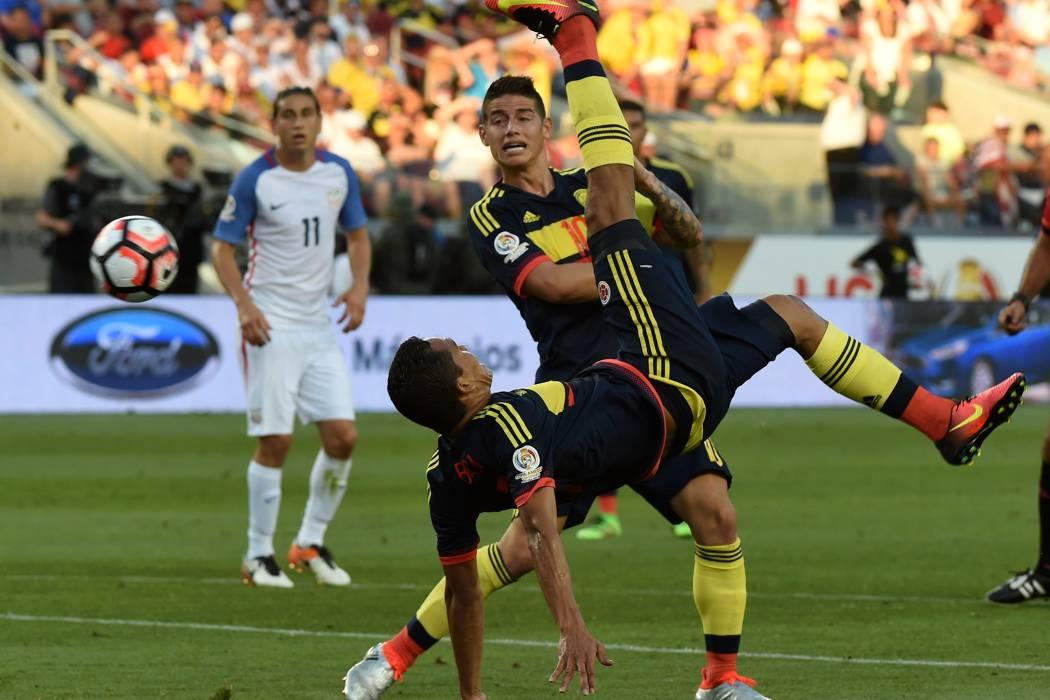 Selección Colombia, por el tercer lugar en la Copa América Centenario