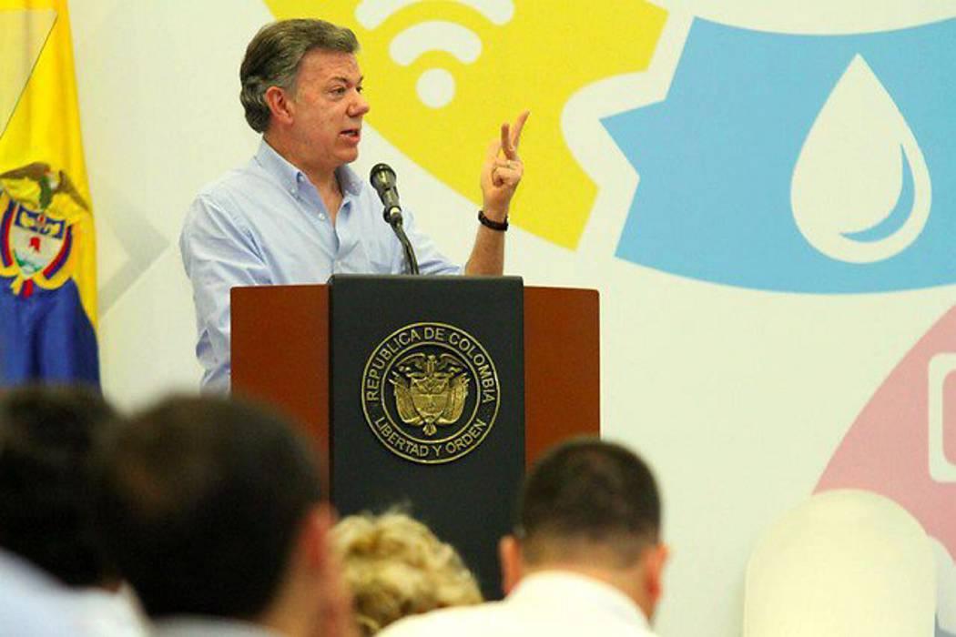 """Santos dijo que la guerra urbana """"nunca fue una amenaza, es decir la verdad"""""""