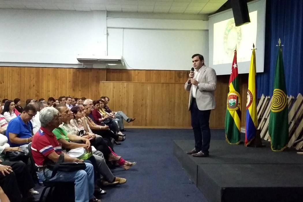 Alcaldía presentó el Plan de Desarrollo