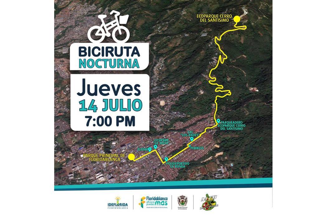Ideflorida organizó la ruta de ciclismo