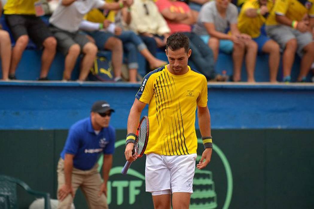 Aplazado el inicio de la Copa Davis entre Colombia y Chile