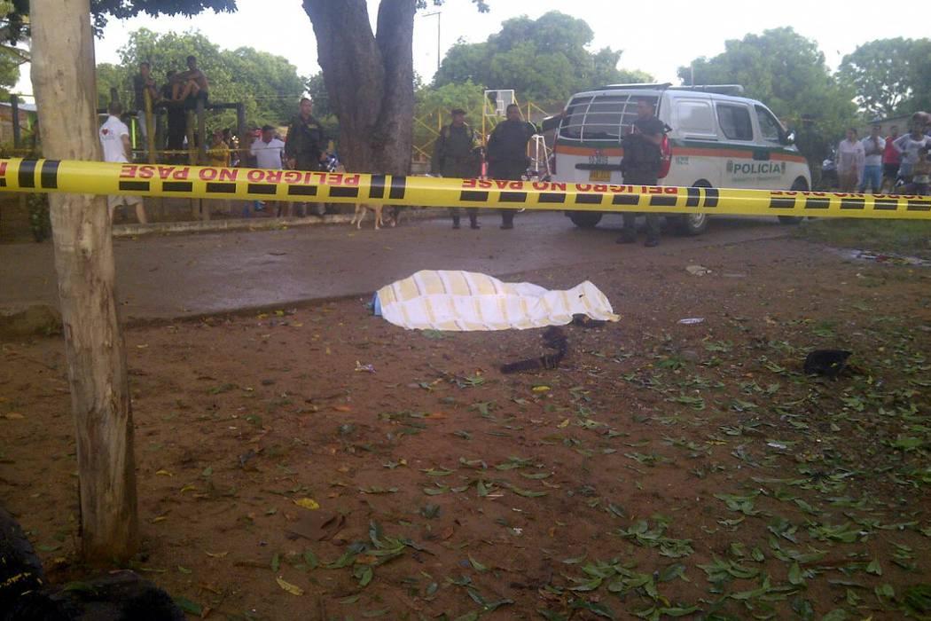 Un policía murió y otro resultó herido, tras un atentado del Eln