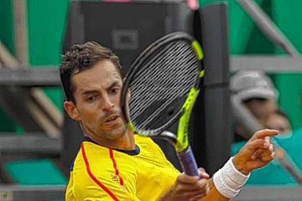 Santiago Giraldo se retiró y Colombia perdió la serie ante Chile en Copa Davis