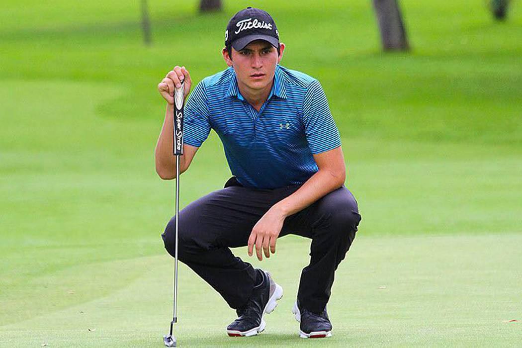 Iván Camilo Ramírez sigue mostrando su mejor golf