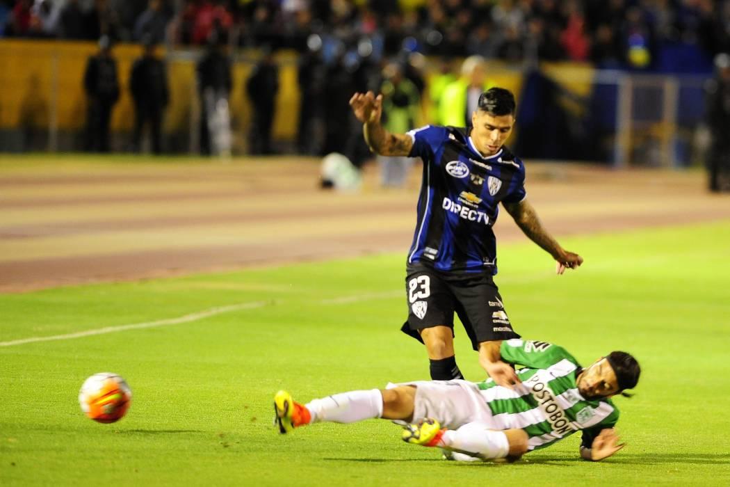 Nacional empató en Ecuador y quedó a un triunfo del título de la Copa Libertadores