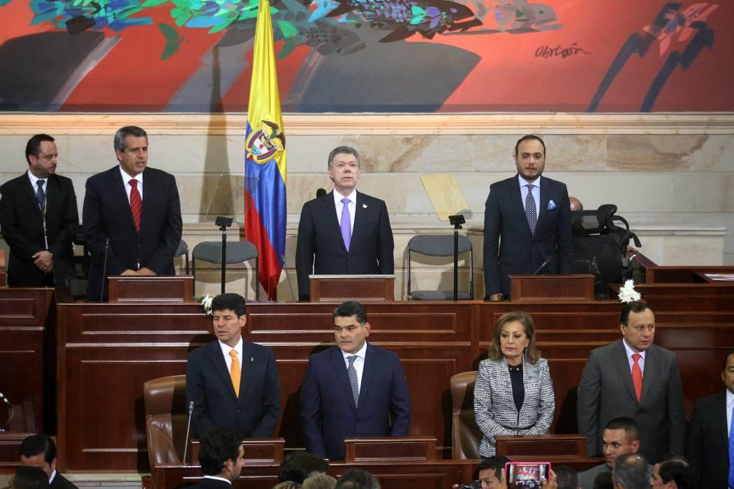 """""""¡Será ahora el Congreso del Posconflicto!"""": Santos"""