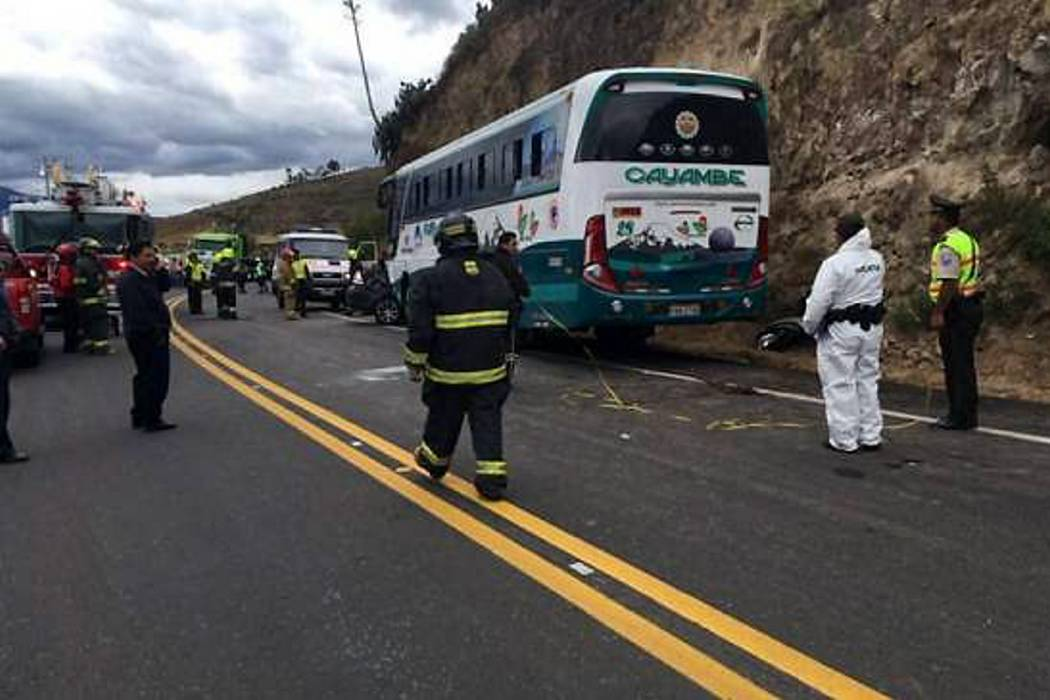 Tres colombianos que acompañaban a Nacional murieron en accidente en Ecuador
