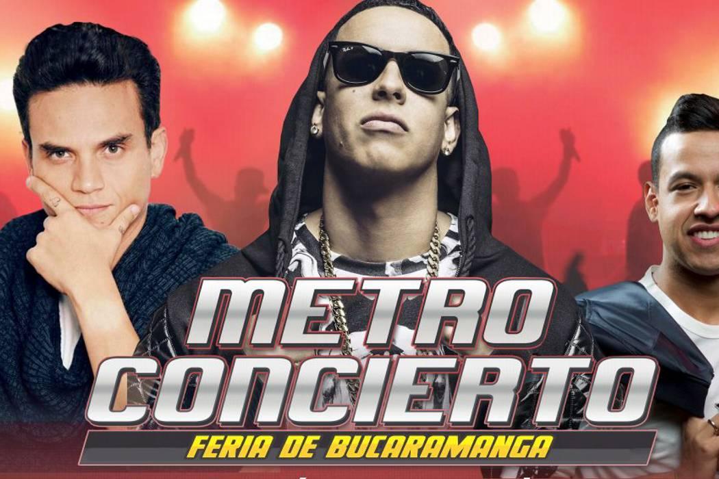 Se acerca el Metro Concierto en la Feria de Bucaramanga