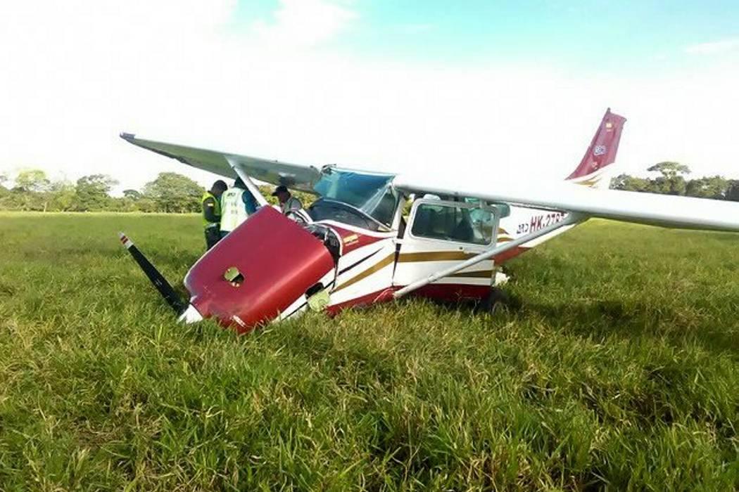 Nuevo accidente aéreo en Meta deja seis heridos