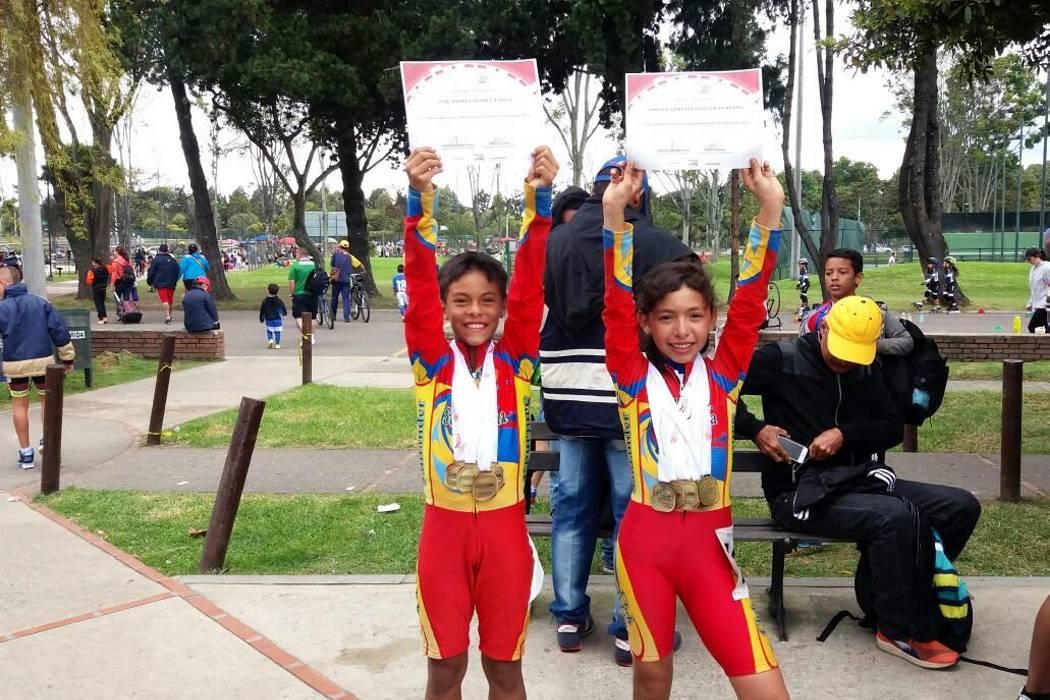 Patinadores de Piedecuesta se  destacaron en torneo en Bogotá