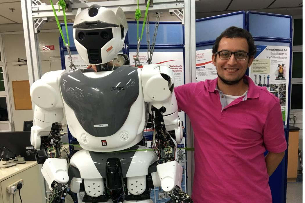 El niño santandereano que soñaba con hacer robots
