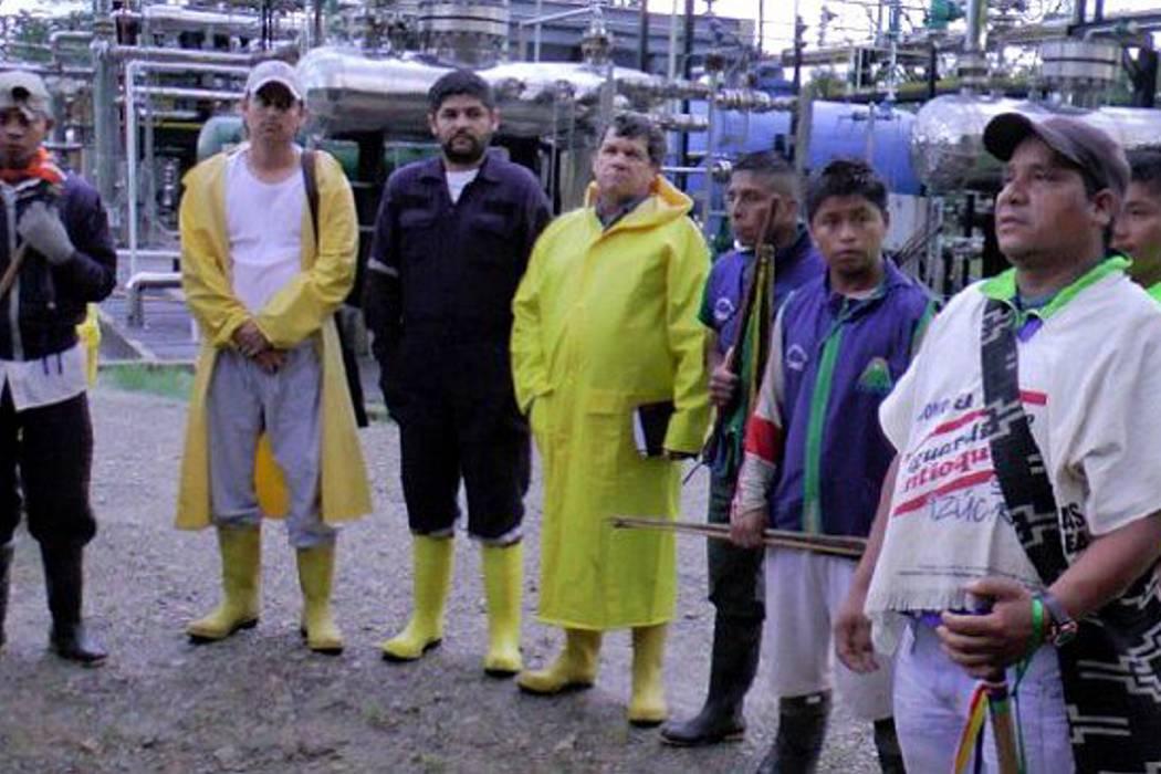 Acuerdo entre comunidad U'wa y Ecopetrol pone fin a protesta en planta de Gibraltar