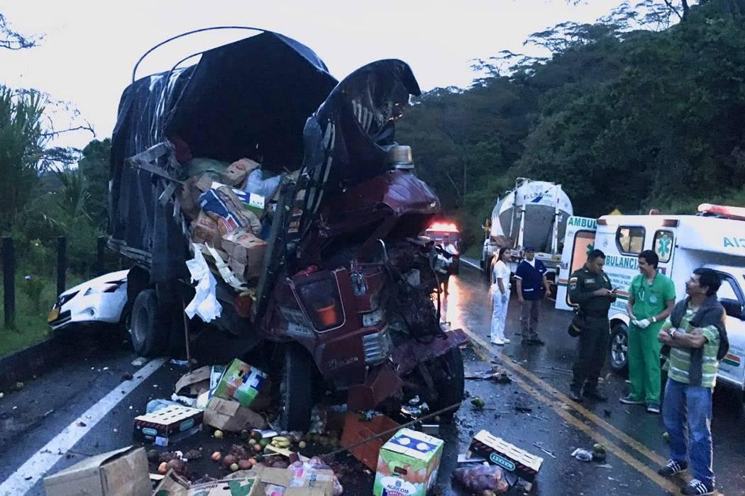 Cuatro muertos dejan accidentes de tránsito en Santander