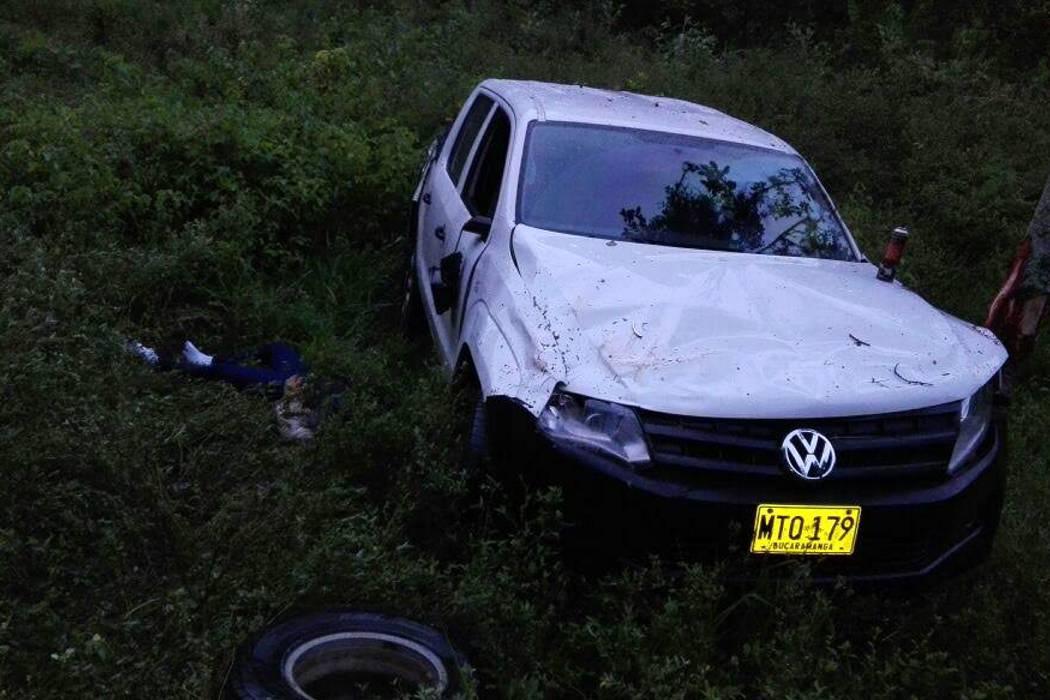 Un muerto y dos heridos dejó accidente de tránsito en Curos