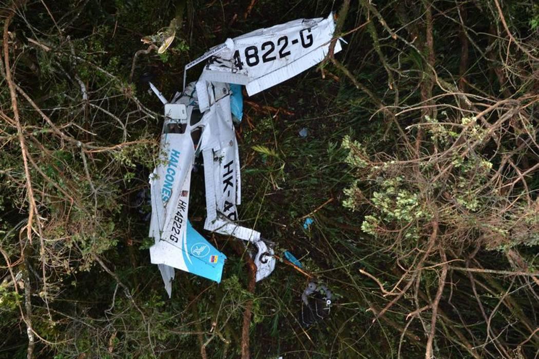 Dos muertos y un herido dejó accidente de avioneta en Antioquia