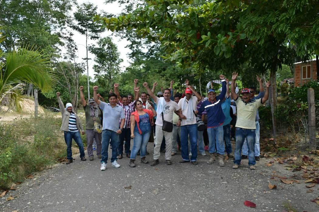 Comunidad bloquea ingreso de equipos a pozo de Ecopetrol