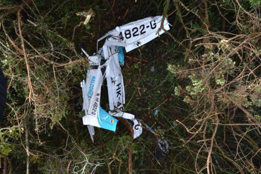 Dos muertos y un herido dejó accidente aéreo en Antioquia
