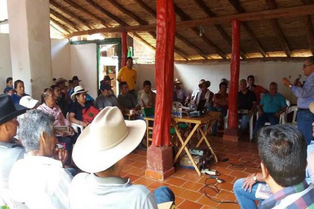 Concurrido encuentro cafetero en Chima