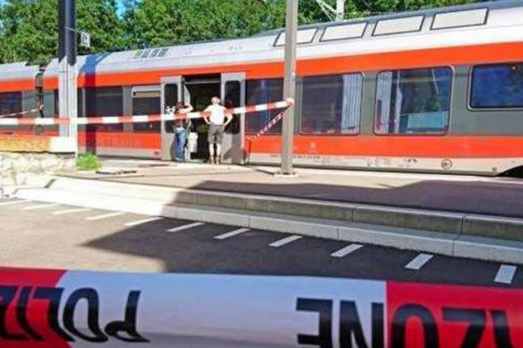 Seis heridos en un ataque con cuchillo en un tren en Suiza