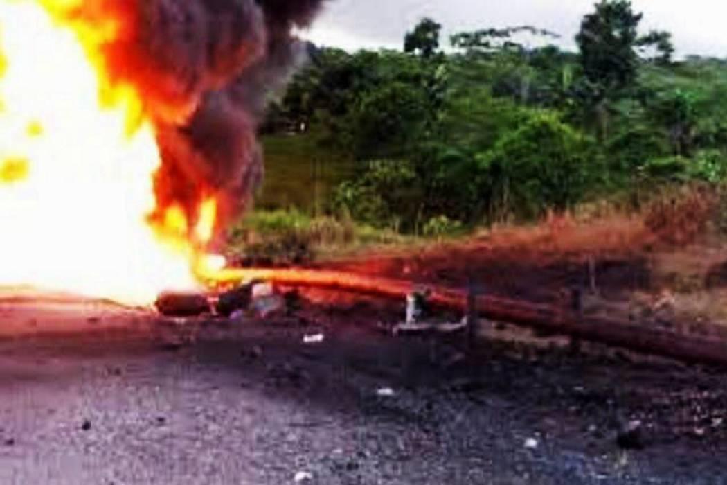 Fijan audiencia contra cabecillas del Eln por voladura de oleoductos
