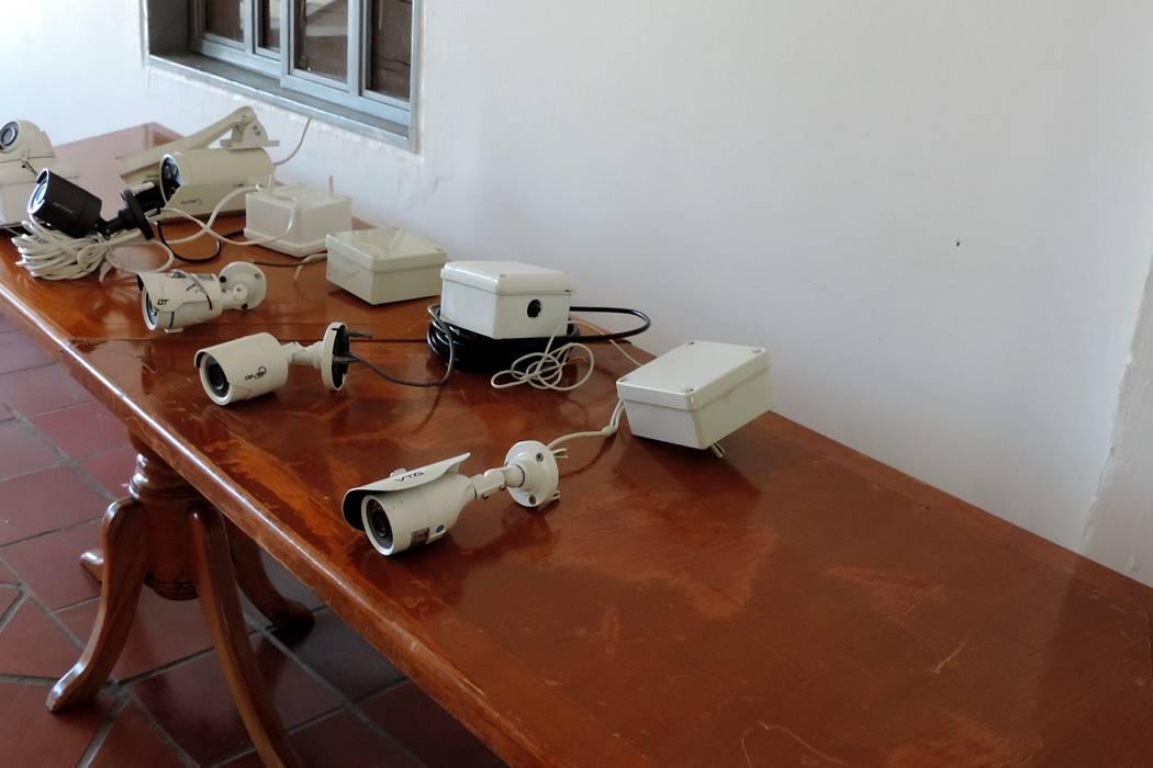 Capturaron a los delincuentes que habrían hurtado las cinco cámaras de seguridad