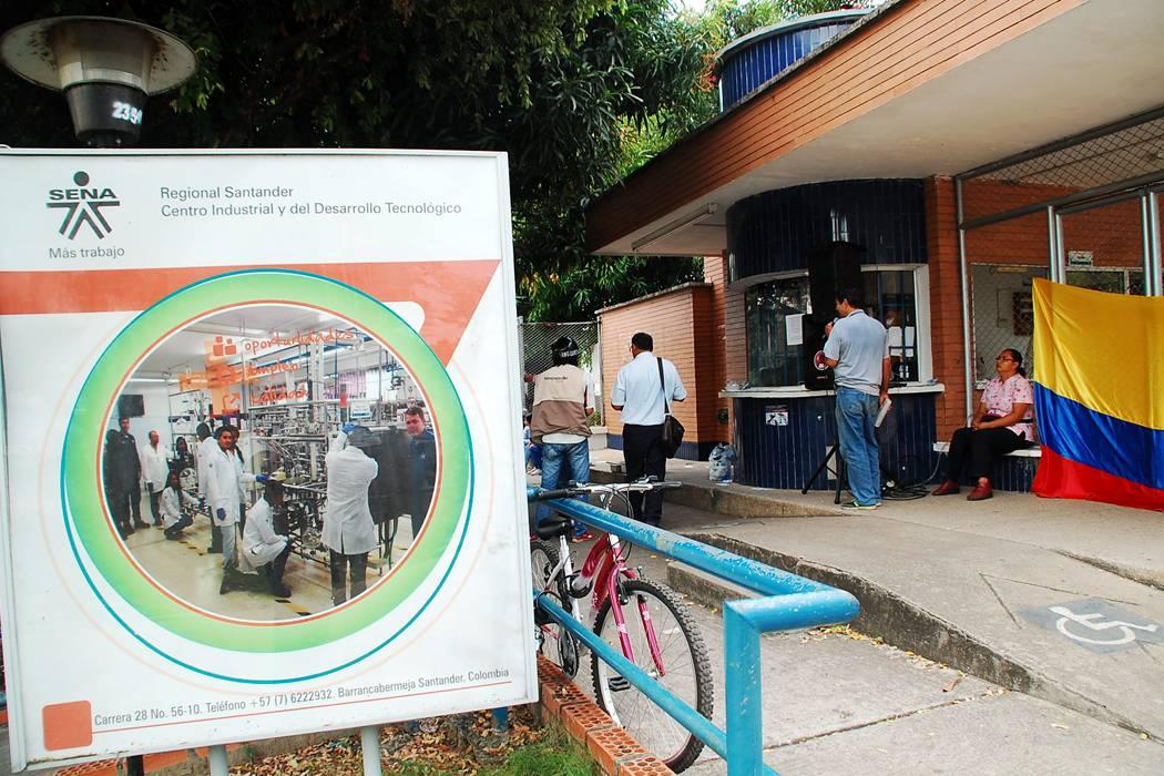 Paro en el Sena dejó sin clase a mil aprendices en Barrancabermeja
