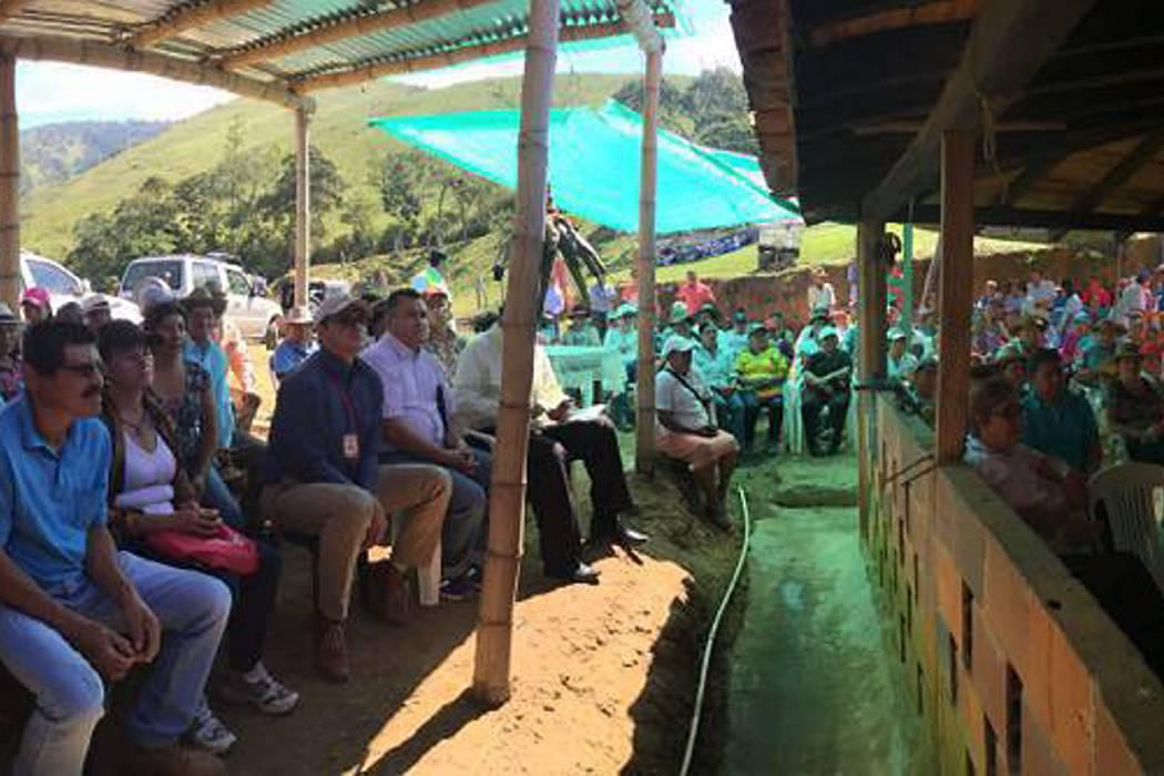 Se realizó encuentro cafetero en Charalá