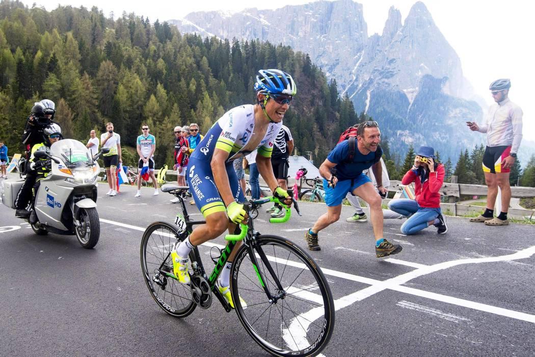 Cinco hombres pretenden devolver a Colombia a lo más alto en La Vuelta