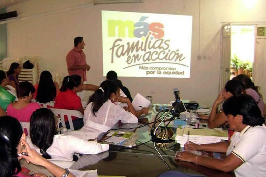 A partir de mañana elegirán a los líderes del programa 'Más Familias en Acción'