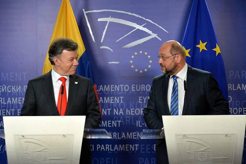 El Presidente del Parlamento Europeo estará este martes en Colombia