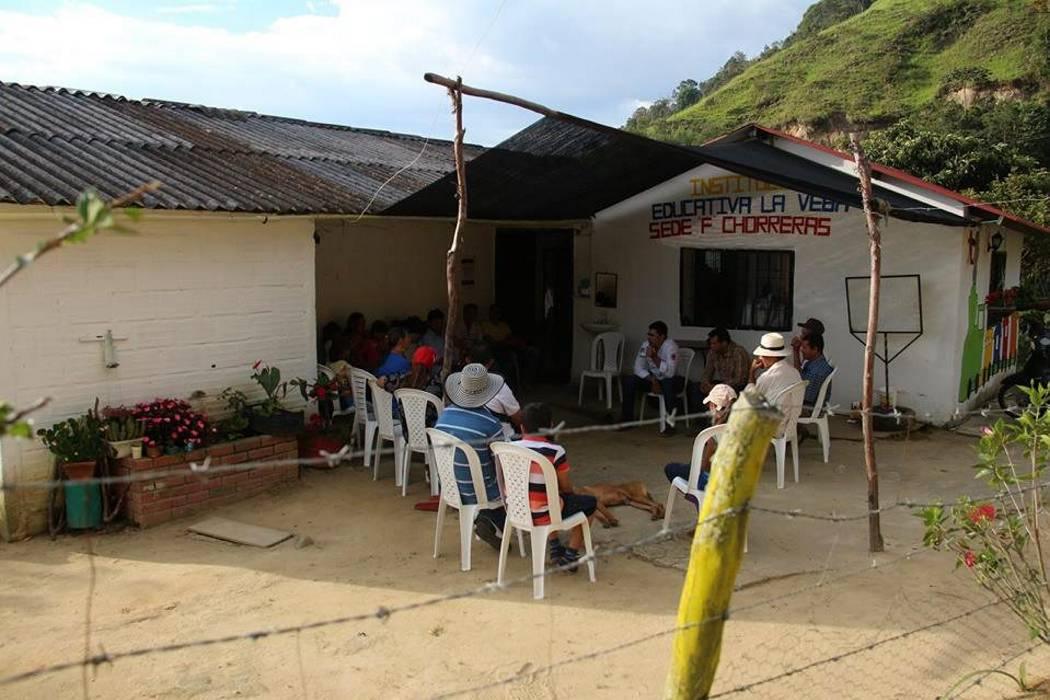 Habitantes de la vereda Chorreras en Piedecuesta expusieron necesidades