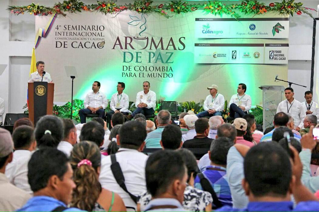 El Presidente apoya entrada de los cacaoteros a la Icco