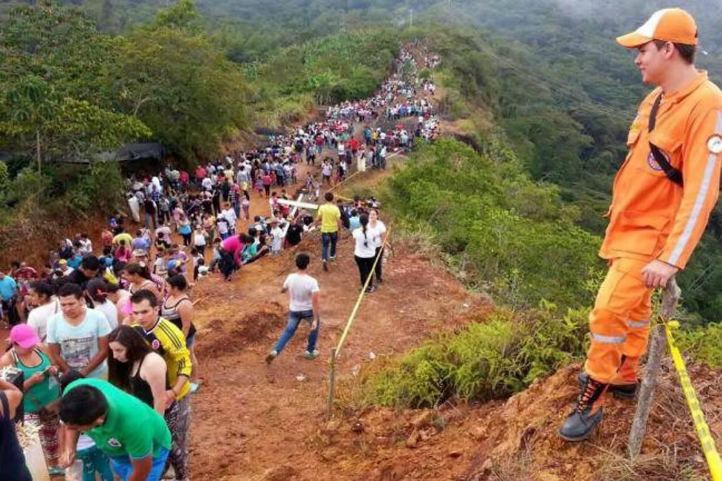 Hoy se realizará la caminata ecológica al Cerro de la Cruz