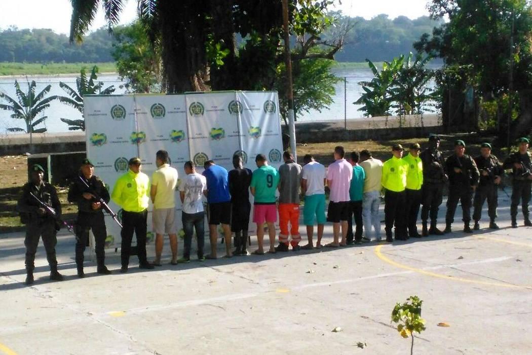 Policía desarticuló banda Siete de Julio en Puerto Boyacá