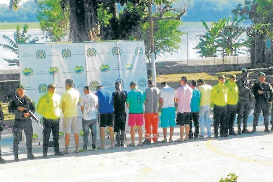 Policía desarticuló banda 'Siete de Julio' en Puerto Boyacá
