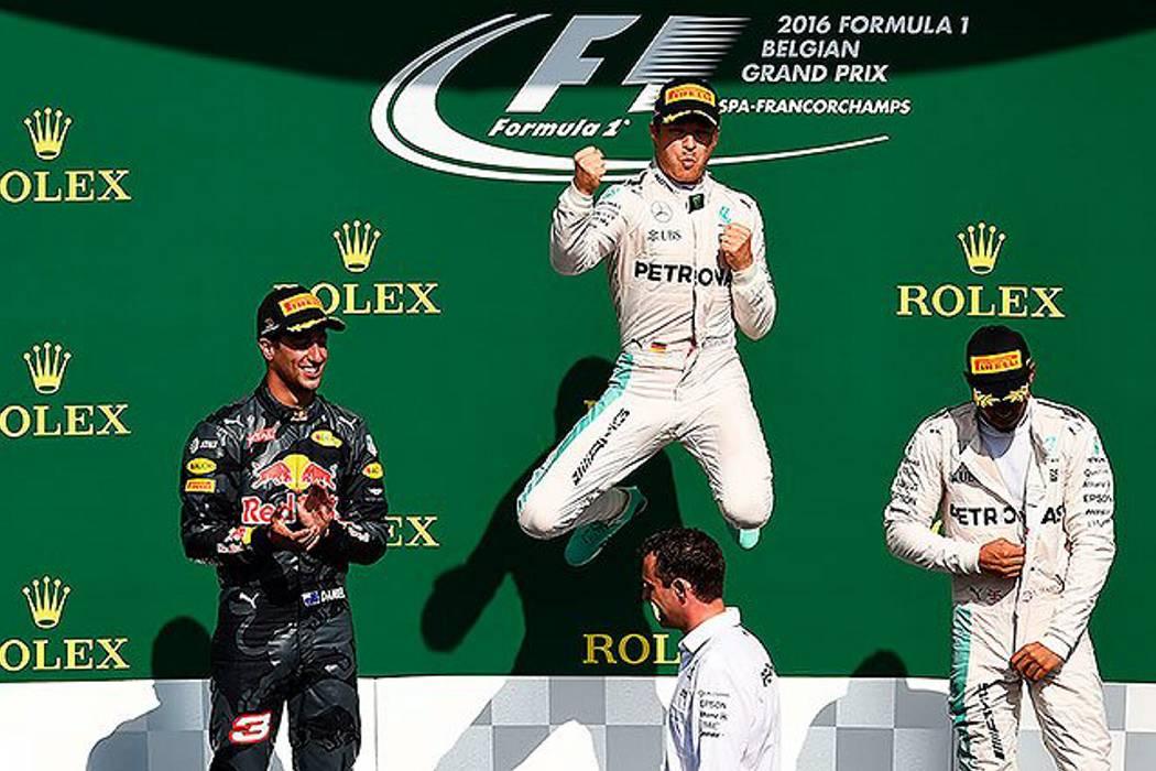 Nico Rosberg se impone en el Gran Premio de Bélgica de Fórmula Uno