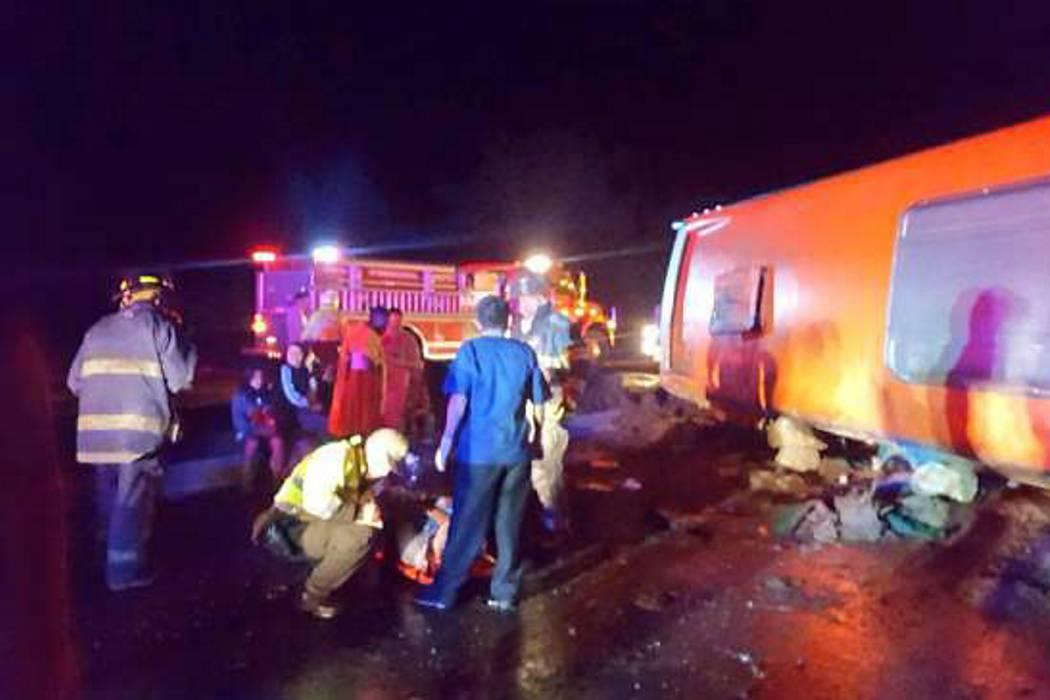Cinco muertos y 20 heridos en accidente de bus en la vía Girardot-Bogotá