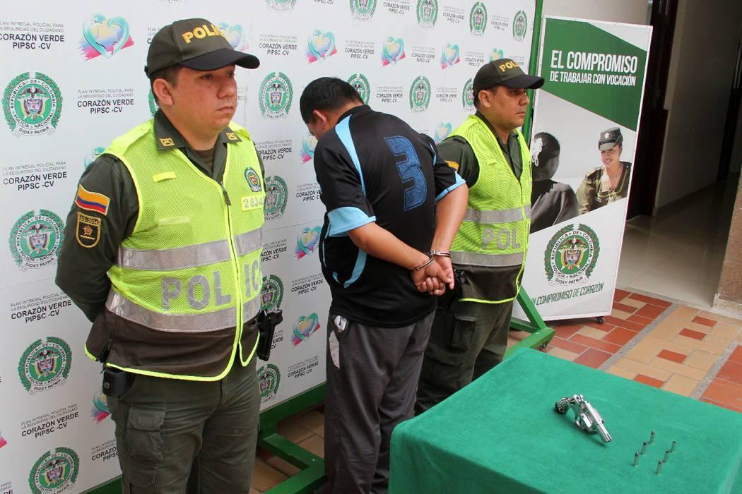 Capturan en Bucaramanga a un hombre  por tentativa de hurto