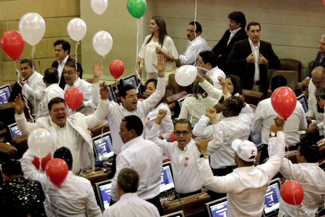 Senado aprobó la convocatoria del plebiscito para la paz