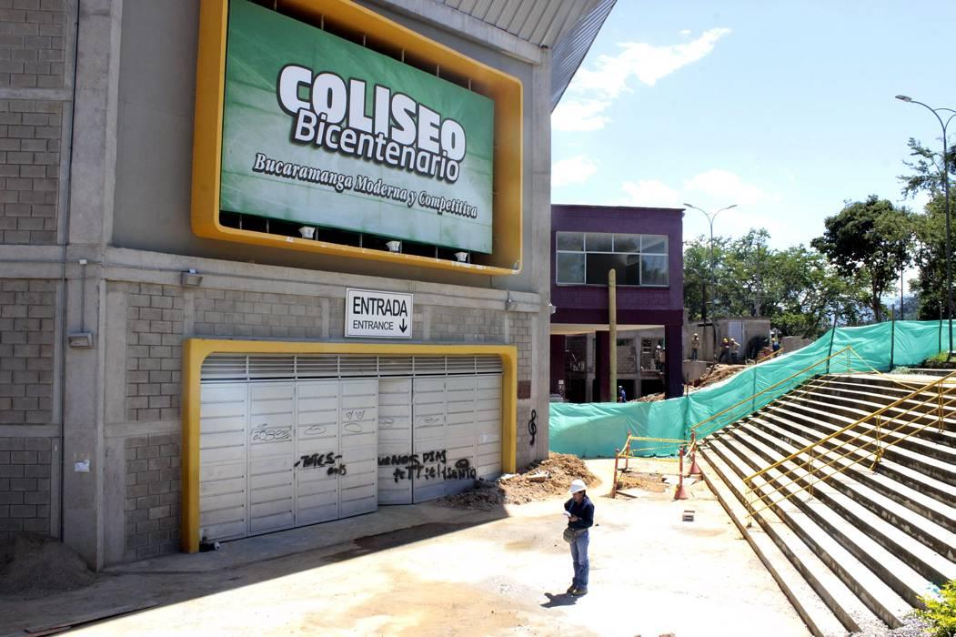 Alcaldía de Bucaramanga y ciudadanía auditarán  obras del Coliseo Bicentenario