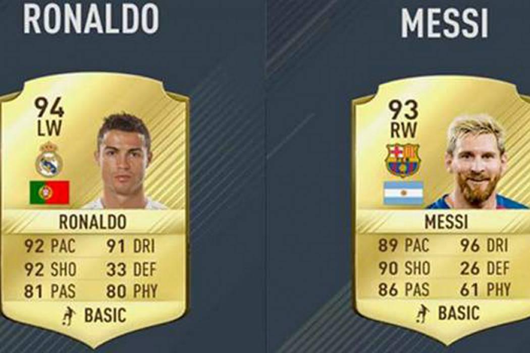 Por qué Cristiano Ronaldo es mejor que Lionel Messi en el videojuego FIFA 17