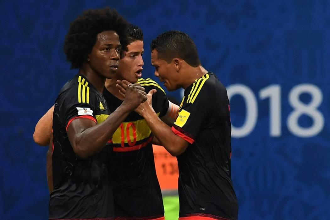 Los cuatro rivales que se enfrentarán a la Selección Colombia